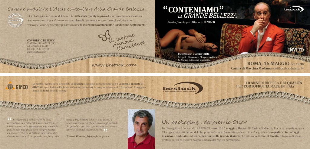 flyer decennale bestack roma
