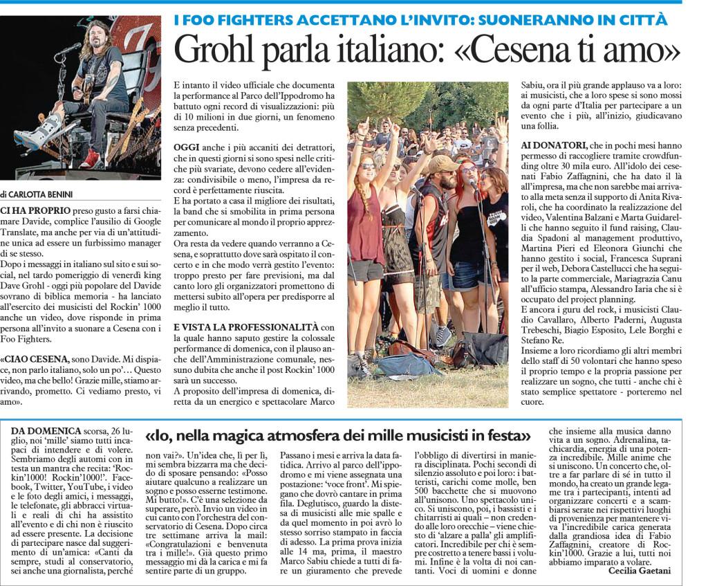 Carlino Cesena 2 agosto