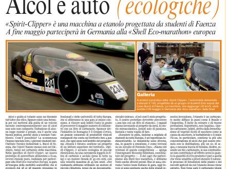 articolo corriere bologna auto alcol